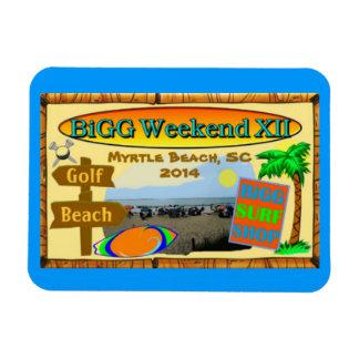 BiGG Weekend XII Magnet