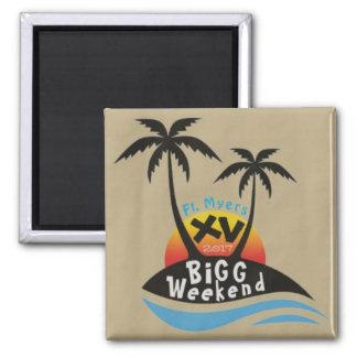 BiGG Weekend XV Magnet