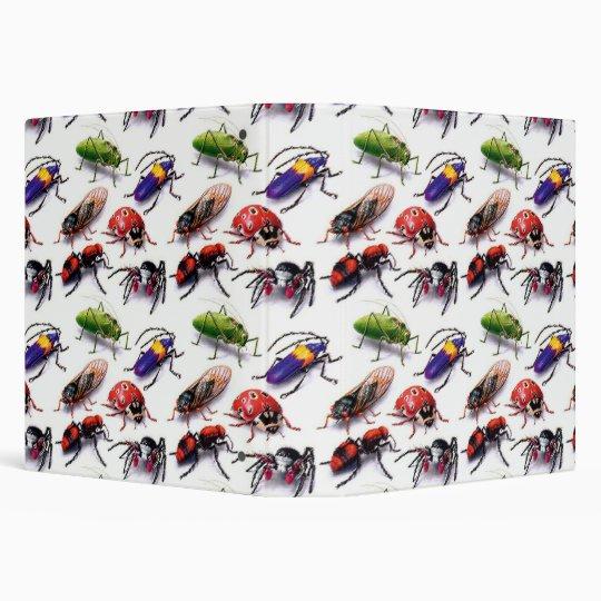 Bigger Bugs Bugs Bugs Notebook 3 Ring Binders