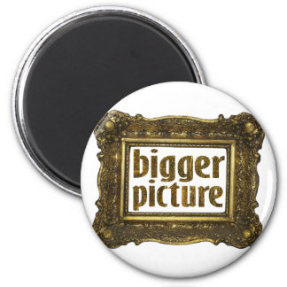 bigger picture 2 inch round magnet