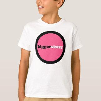 Bigger Sister Pink Circle T-Shirt
