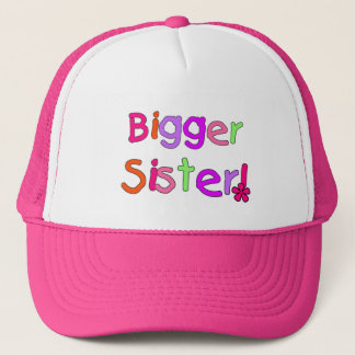 Bigger Sister Tshirts and Gifts Trucker Hat
