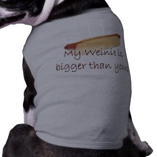 Bigger Weinie Pet Clothing