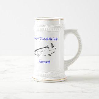 Biggest fish award mug