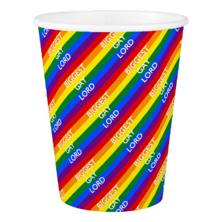 BIGGEST GAY LORD PAPER CUP