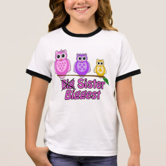 Biggest Sister Ringer T-Shirt