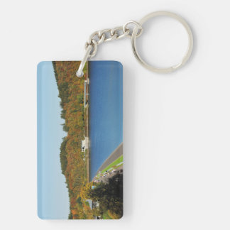 Biggetalsperre in the autumn keychain