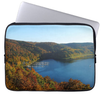 Biggetalsperre in the autumn laptop sleeve