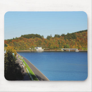 Biggetalsperre in the autumn mouse pad