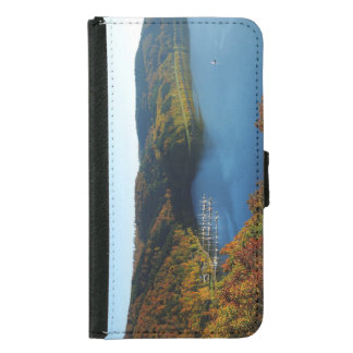 Biggetalsperre in the autumn samsung galaxy s5 wallet case