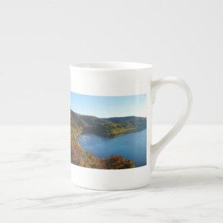 Biggetalsperre in the autumn tea cup