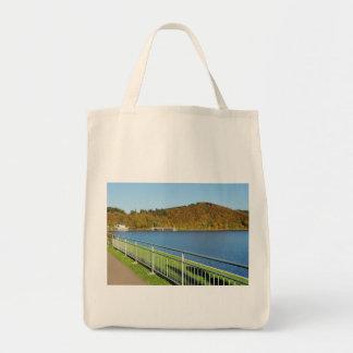 Biggetalsperre in the autumn tote bag