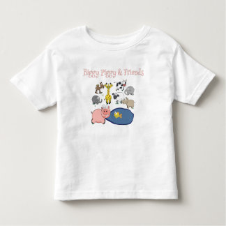 Biggy Piggy and Friends! Toddler T-shirt