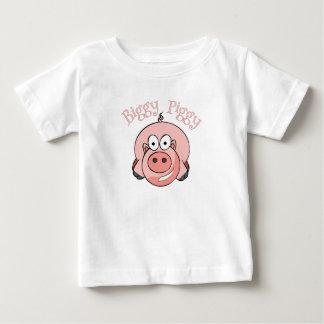 Biggy Piggy Baby T-Shirt