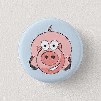 Biggy Piggy Badge 1 Inch Round Button