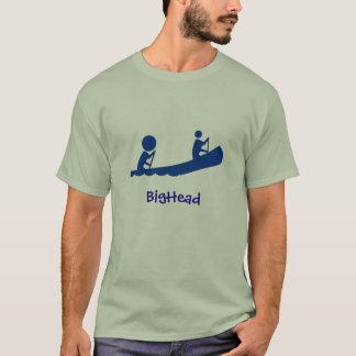 BigHead Blue Canoe T-Shirt