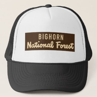 Bighorn National Forest Trucker Hat