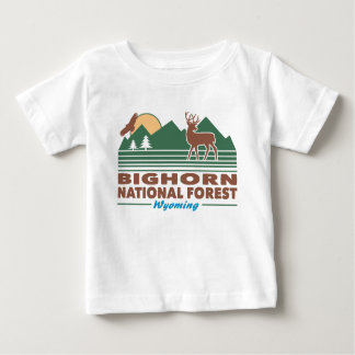 Bighorn National Forest Wyoming Baby T-Shirt