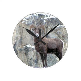 Bighorn Sheep Clock