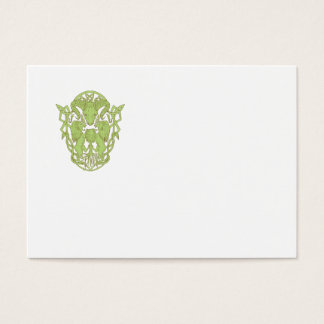 Bighorn Sheep Lion Tree Coat of Arms Celtic Knot Business Card