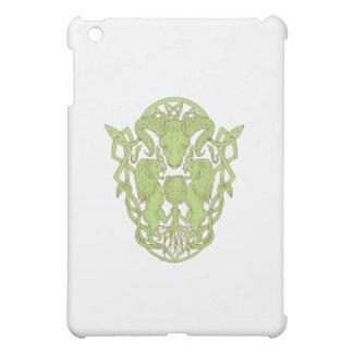 Bighorn Sheep Lion Tree Coat of Arms Celtic Knot iPad Mini Case