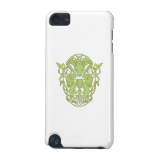 Bighorn Sheep Lion Tree Coat of Arms Celtic Knot iPod Touch 5G Case