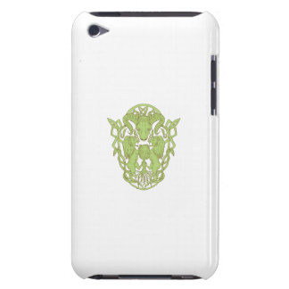 Bighorn Sheep Lion Tree Coat of Arms Celtic Knot iPod Touch Case-Mate Case