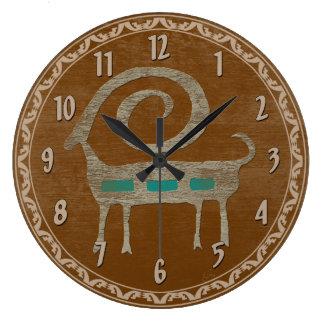 Bighorn Sheep Petroglyph Clocks