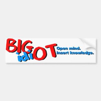BIGidiOT Bumper Sticker