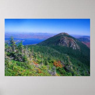 Biglelow Mountain View to Avery Peak Poster