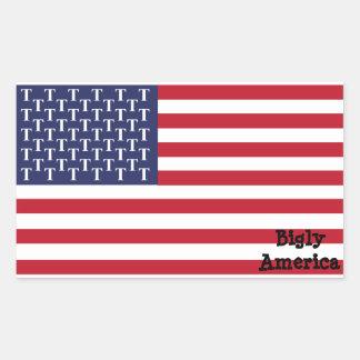 Bigly America Sticker