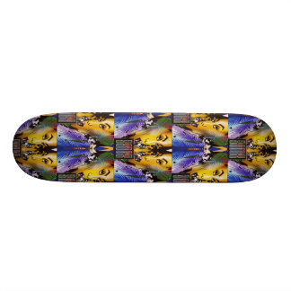 Bigspin style skateboard deck