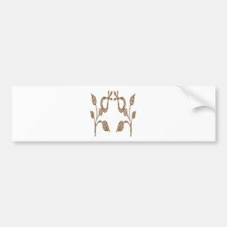 Bijoux gravés par argent de l'or n de SCINTILLEMEN Autocollant De Voiture