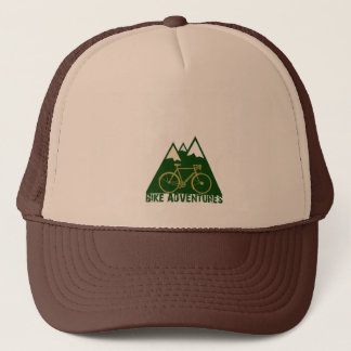 bike adventures fashion trucker hat
