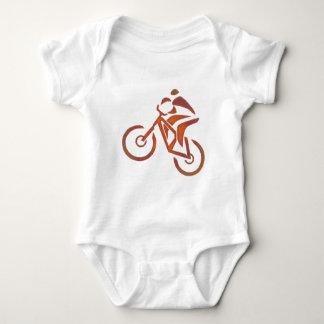 Bike All Downhill Baby Bodysuit