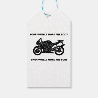Bike and body soul gift tags