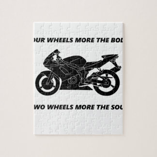 Bike and body soul jigsaw puzzle