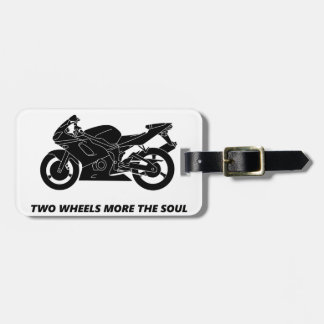 Bike and body soul luggage tag