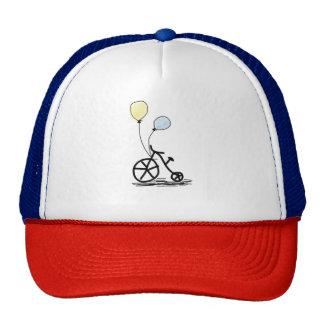 bike balloon party custom personalize Anniversary Trucker Hat