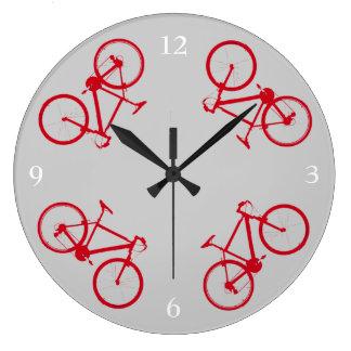 bike , bicycle ; biking / cycling clock
