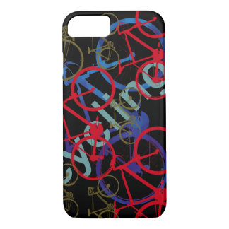 bike , bicycle ; biking / cycling iPhone 8/7 case