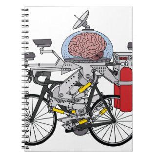 Bike Brain (cyclist of the year 3000) Notebook
