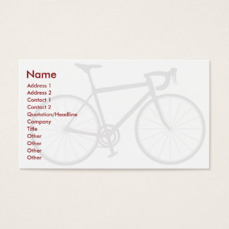 Bike - Business Business Card