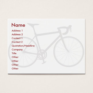 Bike - Chubby Business Card