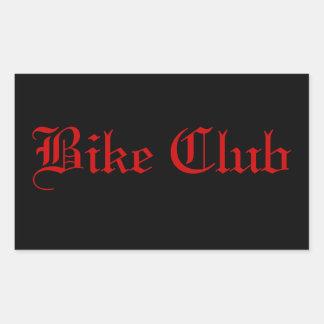 Bike Club Sticker