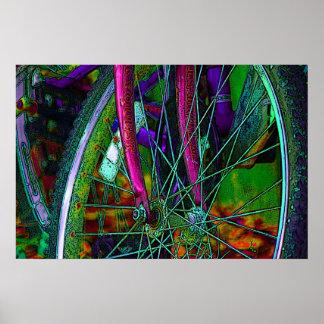 Bike cycle bicycle!  poster