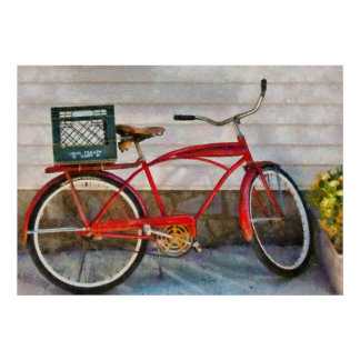 Bike - Delivery Bike Poster