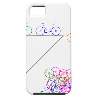 Bike falling off has cliff iPhone 5 covers