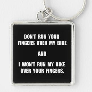 Bike Fingers Keychain
