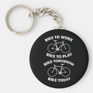 Bike Forever - Cool Cycling Keychain